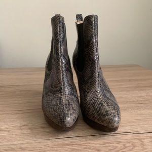 Michael Kors sneak skin boot woman shoes